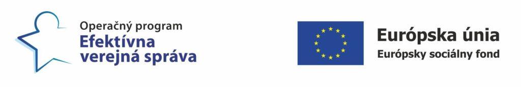Logo európskej únie a ESF
